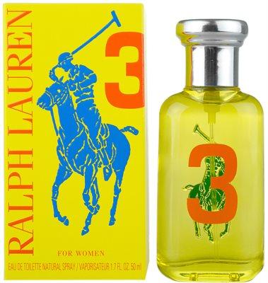 Ralph Lauren The Big Pony Woman 3 Yellow woda toaletowa dla kobiet