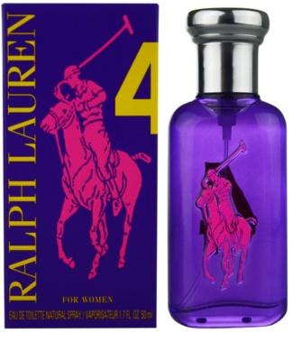 Ralph Lauren The Big Pony Woman 4 Purple eau de toilette para mujer