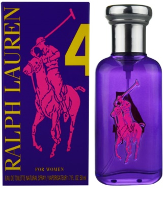 Ralph Lauren The Big Pony Woman 4 Purple Eau de Toilette para mulheres