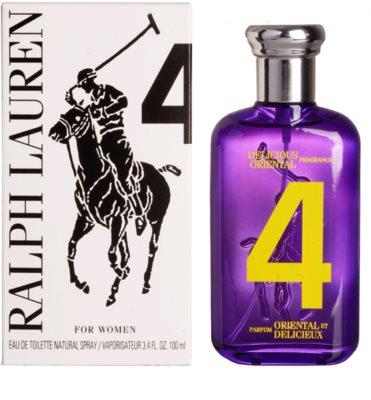 Ralph Lauren The Big Pony Woman 4 Purple туалетна вода тестер для жінок