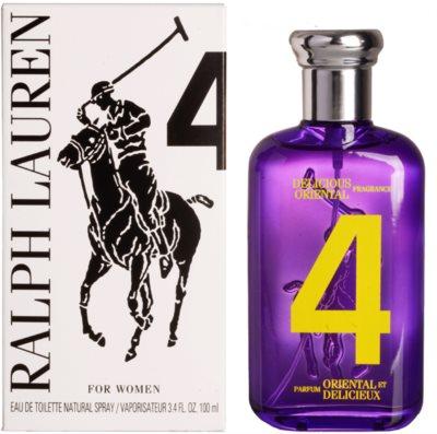 Ralph Lauren The Big Pony Woman 4 Purple тоалетна вода тестер за жени