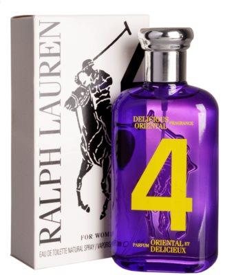 Ralph Lauren The Big Pony Woman 4 Purple туалетна вода тестер для жінок 1