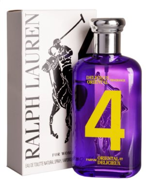 Ralph Lauren The Big Pony Woman 4 Purple тоалетна вода тестер за жени 1