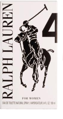 Ralph Lauren The Big Pony Woman 4 Purple туалетна вода тестер для жінок 4