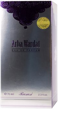 Rasasi Arba Wardat eau de parfum unisex 4