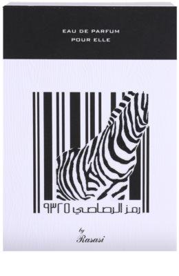 Rasasi Rumz Al Rasasi Zebra Pour Elle eau de parfum nőknek 4