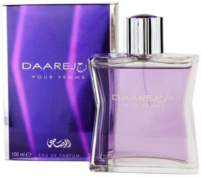 Rasasi Daarej for Woman Eau de Parfum für Damen
