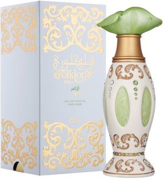 Rasasi Folklory Al Ward (Green) Eau de Parfum für Damen 1