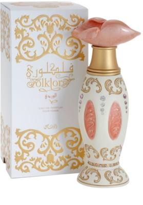 Rasasi Folklory Al Ward (Pink) Eau De Parfum pentru femei 1