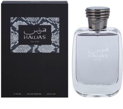 Rasasi Hawas For Men parfémovaná voda pre mužov