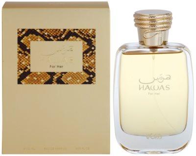 Rasasi Hawas For Her eau de parfum nőknek