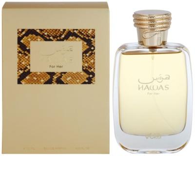 Rasasi Hawas For Her Eau de Parfum para mulheres