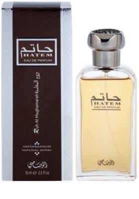 Rasasi Hatem Ruh Al Mughamarah eau de parfum para hombre