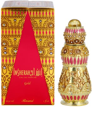 Rasasi Insherah Gold Eau de Parfum unissexo