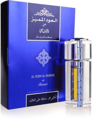 Rasasi Al Oudh Al Mumaiz for Men eau de parfum férfiaknak 1