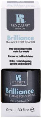 Red Carpet Brilliance strat superior de gel pentru unghii cu efect stralucitor 2