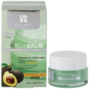 Red Carpet Cuticle Balm bálsame hidratante para cutículas de unhas 1
