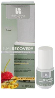Red Carpet Nail Recovery esmalte de gel con lámpara LED para uñas dañadas 1