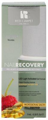 Red Carpet Nail Recovery esmalte de gel con lámpara LED para uñas dañadas 2