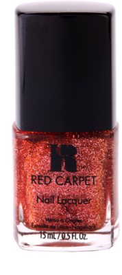 Red Carpet Lacquer Nagellack mit Glitzerteilchen