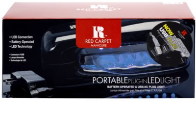 Red Carpet Portable LED lučka za gel nohte 2