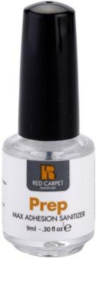 Red Carpet Prep előkészítő gondozás a zselés körmök kopása ellen