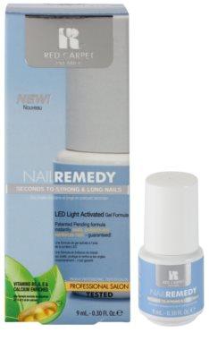 Red Carpet Nail Remedy esmalte de gel con lámpara LED para fortalecer uñas 1