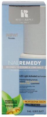 Red Carpet Nail Remedy esmalte de gel con lámpara LED para fortalecer uñas 2