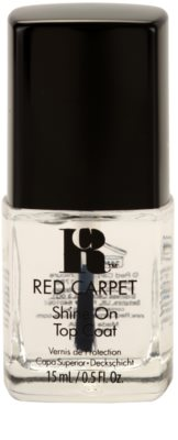 Red Carpet Shine On esmalte de uñas capa superior con brillo