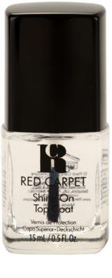 Red Carpet Shine On glänzender Deck-Schutzlack für die Fingernägel