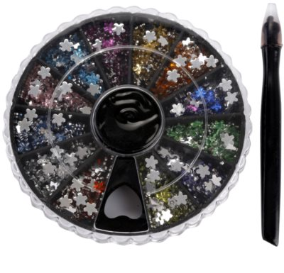 Red Carpet Crystal Gems set con decoraciones para uñas