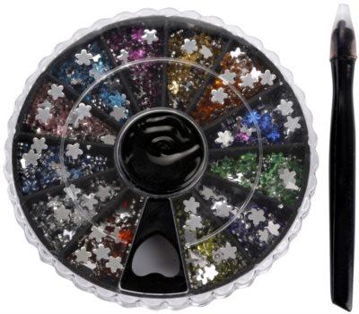 Red Carpet Crystal Gems карусел с декорации за маникюр