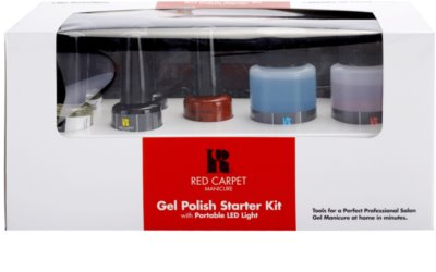 Red Carpet Gel Polish Starter Kit Kosmetik-Set  I. 3
