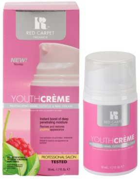 Red Carpet Youth Créme crema hidratante revitalizante para manos, uñas y cutículas 1