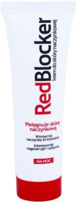 RedBlocker Night posilující krém na popraskané žilky