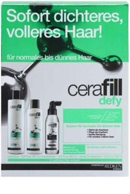Redken Cerafill Defy zestaw kosmetyków I.