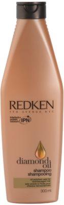 Redken Diamond Oil champô para cabelo danificado