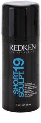 Redken Fashion Collection Short Sculpt 19 gel na vlasy pro rozevlátý vzhled