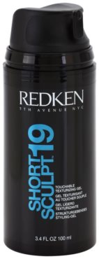 Redken Fashion Collection gel de par pentru par ciufulit 1