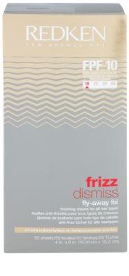Redken Frizz Dismiss glättende Pads gegen statisch aufgeladene und krause Haare 2