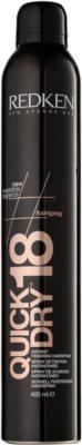 Redken Hairspray rychleschnoucí sprej pro finální úpravu ultra silná fixace
