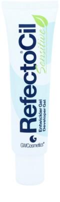 RefectoCil Sensitive szempilla és szemöldök tápláló színes zselé