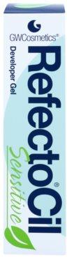 RefectoCil Sensitive vyvíjecí gel pro barvu na obočí a řasy 2