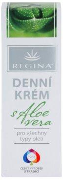 Regina Aloe Vera Tagescreme für das Gesicht mit Aloe Vera 2