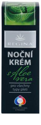Regina Aloe Vera nocny krem do twarzy z aloesem 2