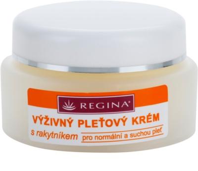 Regina Sea Buckthorn crema nutritiva  para pieles normales y secas
