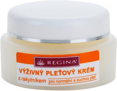 Regina Sea Buckthorn tápláló krém normál és száraz bőrre
