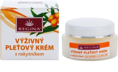 Regina Sea Buckthorn crema nutritiva  para pieles normales y secas 2