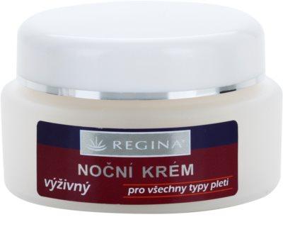 Regina Traditional подхранващ нощен крем за всички типове кожа на лицето