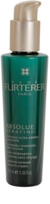 Rene Furterer Absolue Kératine creme restaurador leave-in para cabelo extremamente danificado